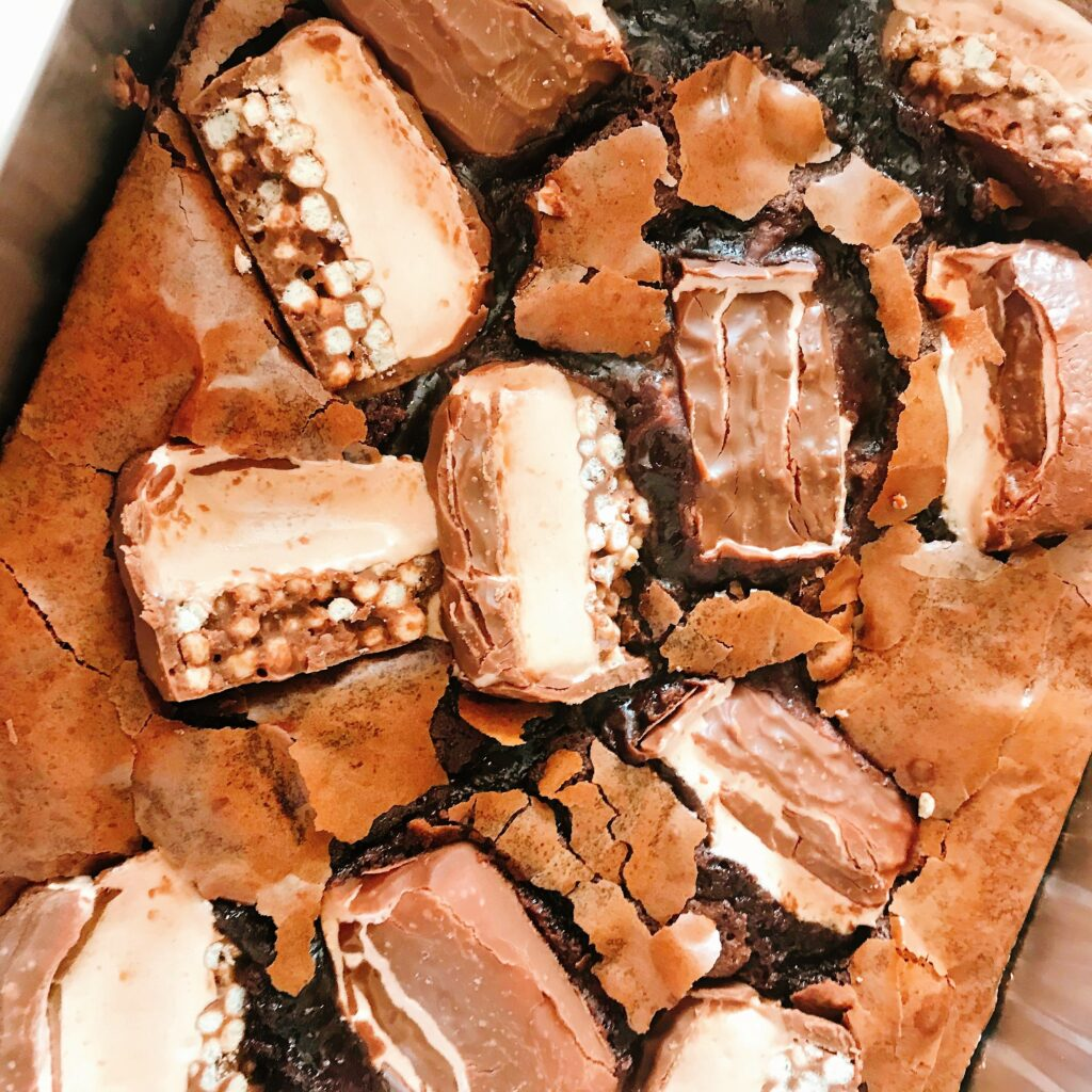 Topped Brownie Tray