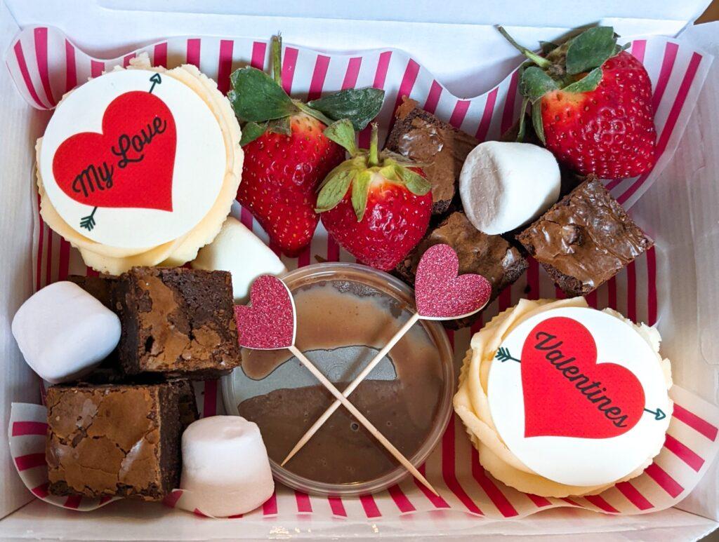 Personalised Valentines Treat Box